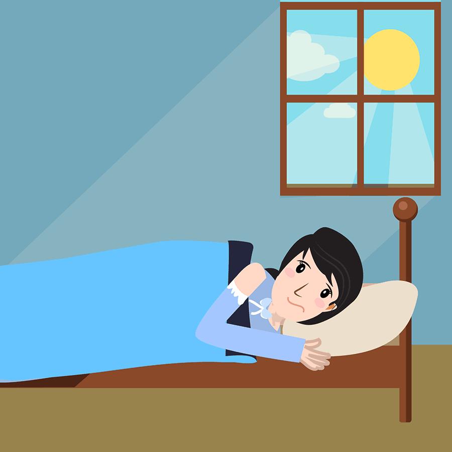 Ein möglichst dunkles Schlafzimmer für besseren Schlaf